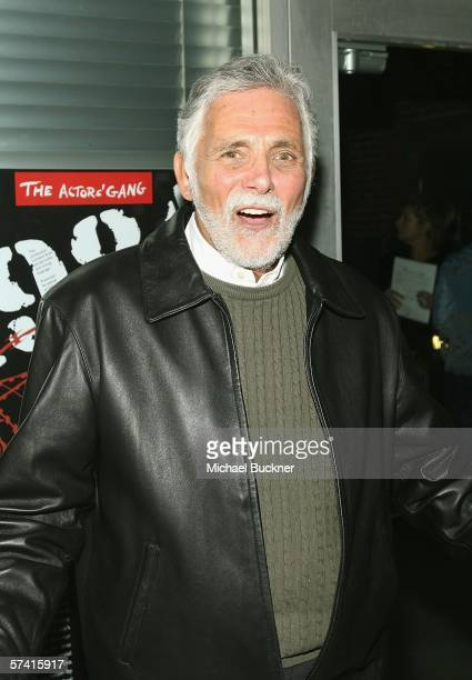Actor David Hedison attends the VDAY West LA 2006 cocktail reception at the Ivy Substation on April 24 2006 in Culver City California