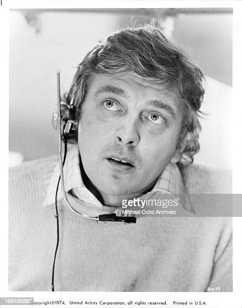 Actor David Hemmings poses for a portrait in circa 1974