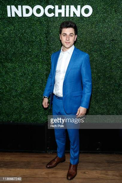 Actor David Henrie attends Indochino Los Angeles Spring/Summer '19 Launch Party at SkyBar at the Mondrian Los Angeles on March 13 2019 in West...