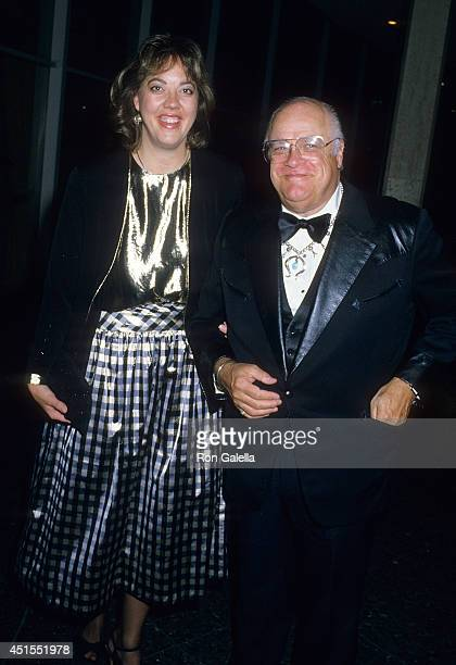 Actor David Huddleston and date attend the 40th Annual Directors Guild of America Awards on March 12 1988 at the Beverly Hilton Hotel in Beverly...
