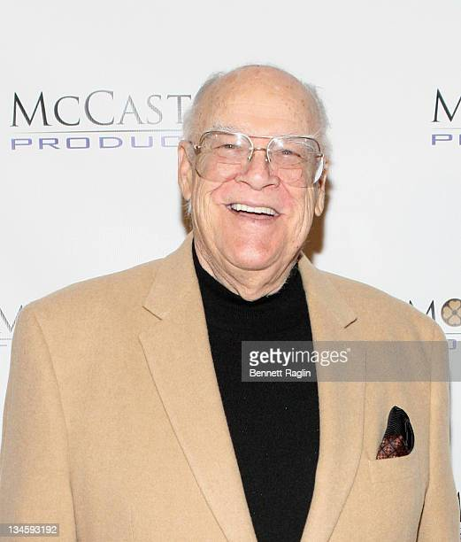 Actor David Huddleston attends the 40th Anniversary Reunion Of ''The Waltons'' at Landmark Loew's Jersey City on December 2 2011 in Jersey City New...