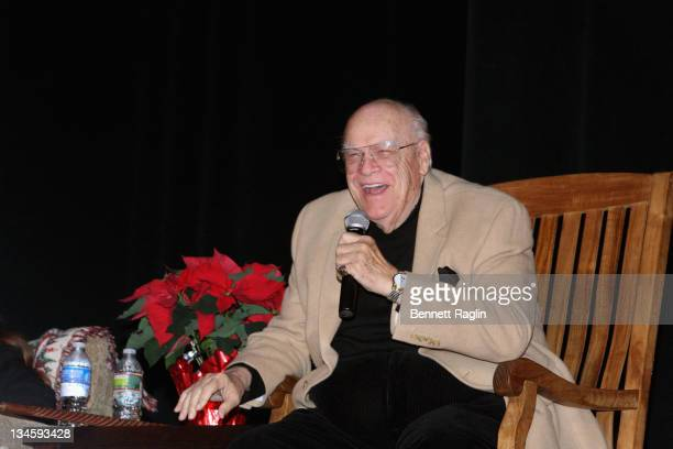 Actor David Huddleston attends the 40th Anniversary Reunion Of The Waltons at Landmark Loew's Jersey City on December 2 2011 in Jersey City New Jersey