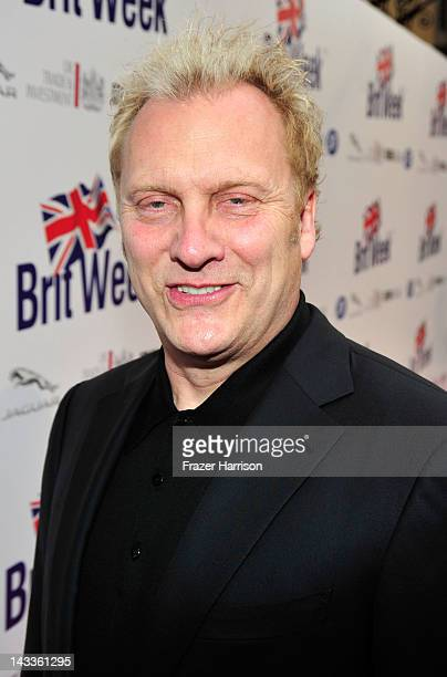 Actor David Hunt arrives at theofficial launch party of BritWeek at a private residence in Hancock Park 2012 on April 24 2012 in Los Angeles...