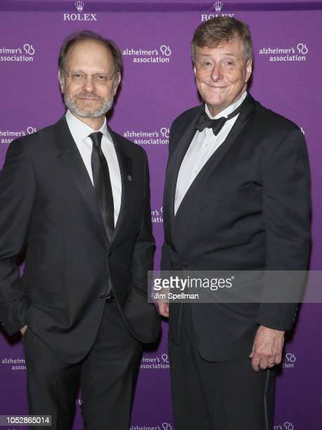 Actor David Hyde Pierce and husband Brian Hargrove attend the 35th Annual Alzheimer's Association Rita Hayworth Gala at Cipriani 42nd Street on...