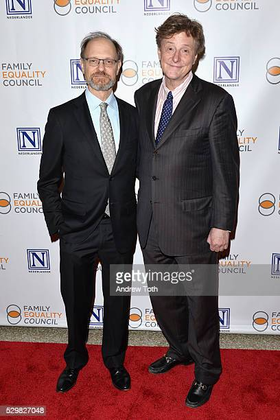 Actor David Hyde Pierce and television writer Brian Hargrove attend Family Equality Council's 11th Annual Night at the Pier hosted by Gloria Emilio...