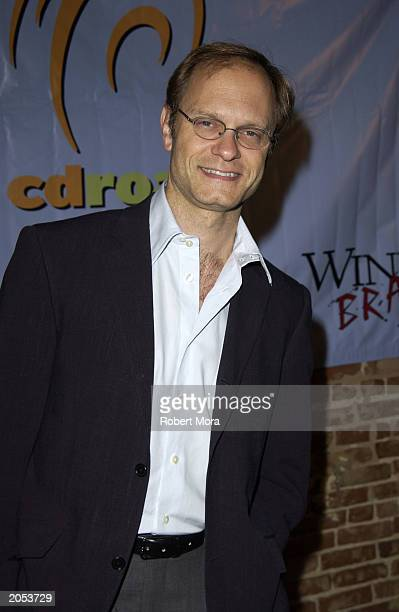 Actor David Hyde Pierce attends a wine tasting and CD release party for Sonoma Uncorked narrated by David Hyde Pierce at Cinespace Club Lounge June 3...