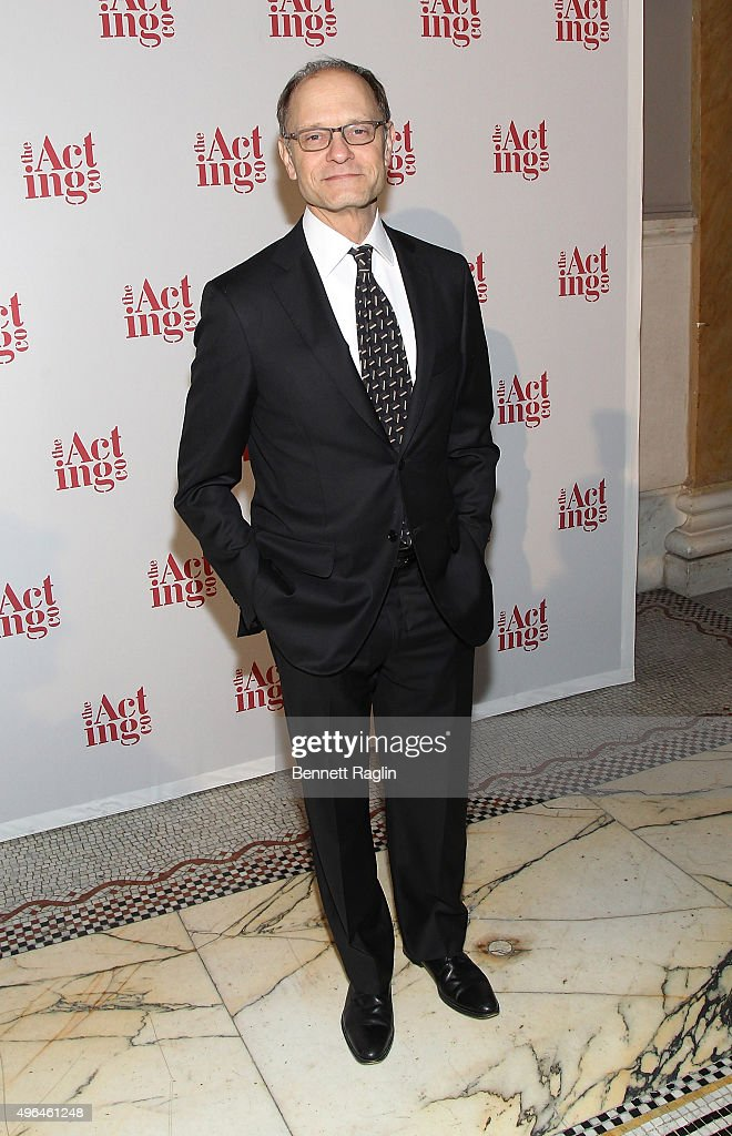 Actor David Hyde Pierce attends the 2015 Acting Company Fall Gala at Capitale on November 9, 2015 in New York City.