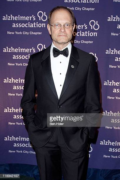 Actor David Hyde Pierce attends the Alzheimer's Association's 2011 Forget-Me-Not gala at The Pierre Hotel on June 6, 2011 in New York City.