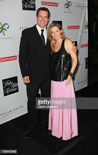 Actor David James Elliot and wife actress Nanci Chambers attend the Dream Foundation's 10th annual Celebration of Dreams at Bacara Resort and Spa on...