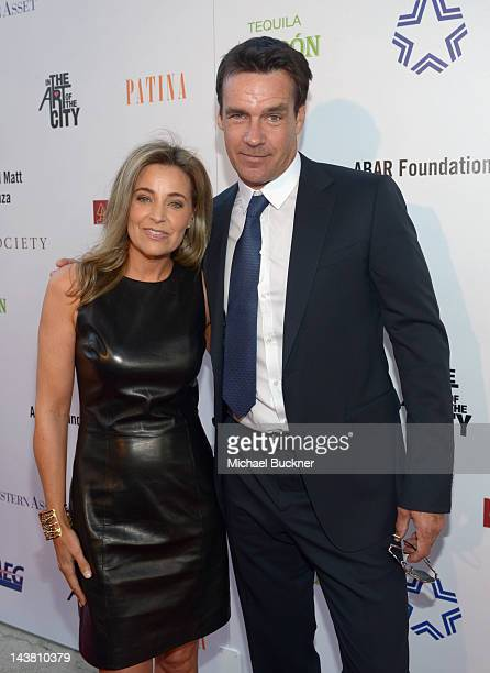 Actor David James Elliott and wife Nanci Chambers attend A Better LA's First Annual In the Art of the City Gala held at the Vibiana on May 3 2012 in...