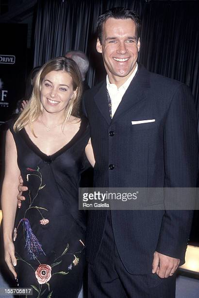 Actor David James Elliott and wife Nanci Chambers attend Jaguar's Tribute to Style The Millenium Exhibition Concert Gala to Benefit the Entertainment...