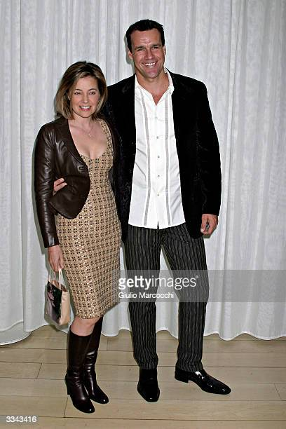 Actor David James Elliott and wife Nanci Chambers attend Paramount Network Television and CBS 200 Episodes Celebration Party of JAG at The...