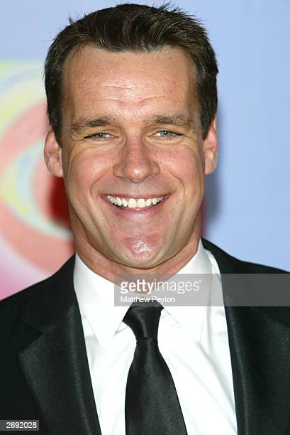Actor David James Elliott arrives at the CBS At 75 celebration at the Hammerstein Ballroom November 2 2003 in New York City This special event...