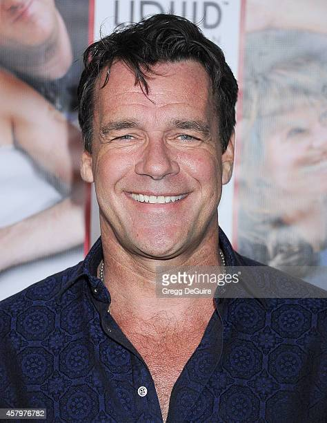 Actor David James Elliott arrives at the Los Angeles premiere of 'Hit By Lightning' at ArcLight Hollywood on October 27 2014 in Hollywood California