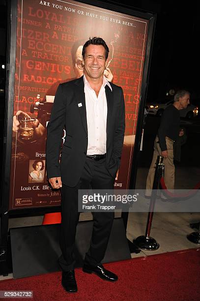 Actor David James Elliott arrives at the premiere of Trumbo held at the Academy of Motion Picture Arts Sciences in Beverly Hills