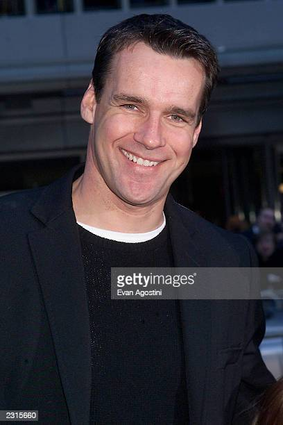 Actor David James Elliott at the NY Premiere of Harry Potter and the Sorcerer's Stone at the Ziegfeld Theatre in New York City Photo Evan...