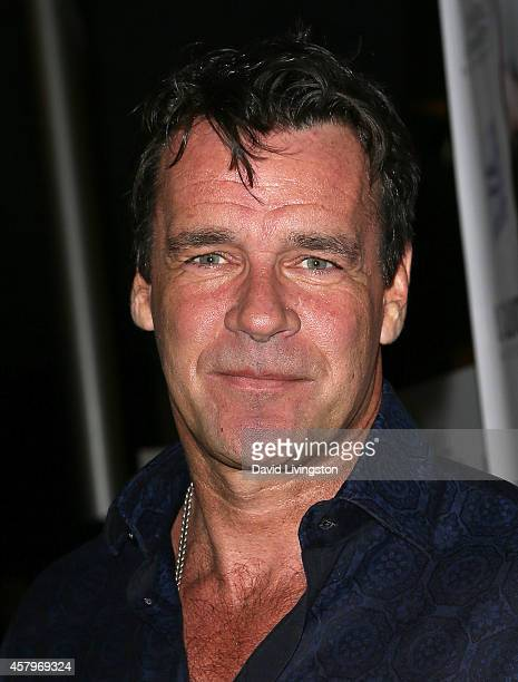 Actor David James Elliott attends the premiere of Hit by Lightning at ArcLight Hollywood on October 27 2014 in Hollywood California