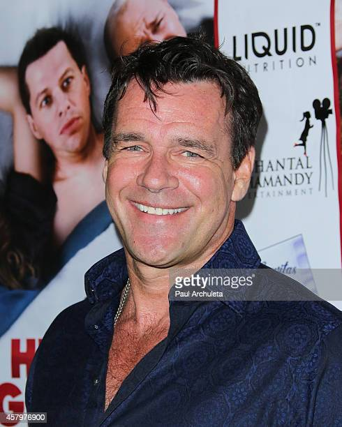 Actor David James Elliott attends the premiere of Hit By Lightning at the ArcLight Hollywood on October 27 2014 in Hollywood California