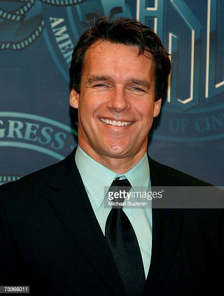 Actor David James Elliott poses in the press room at the 21st Annual American Society of Cinematographers Achievement Awards at the Hyatt Regency...