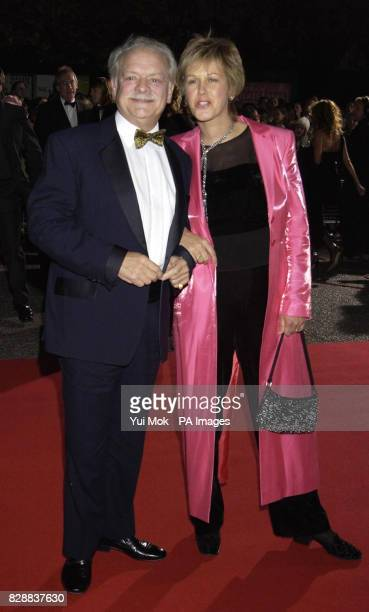Actor David Jason and his partner Gill Hinchcliffe arrive for the annual National Television Awards at the Royal Albert Hall in central London