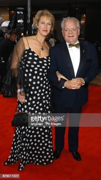 Actor David Jason and his partner Gill Hinchcliffe arrives for the British Academy Television Awards sponsored by Radio Times at Grosvenor House...