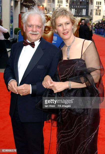 Actor David Jason and his partner Gill Hinchcliffe arriving for the British Academy Television Awards at the London Palladium
