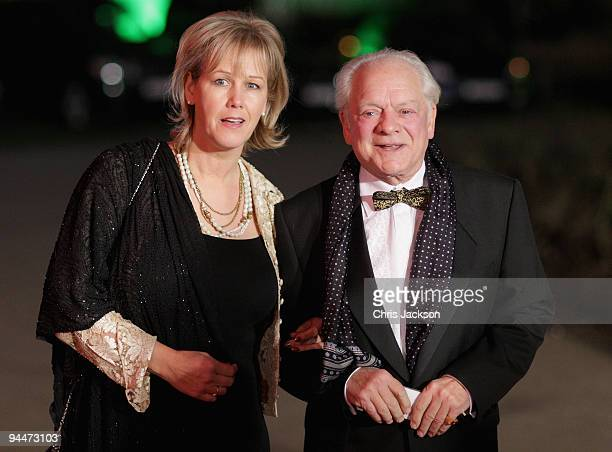 Actor David Jason and wife Gill Hinchcliffe attend the Night of Heroes ceremony to honour British troops at the Imperial War Museum on December 15...