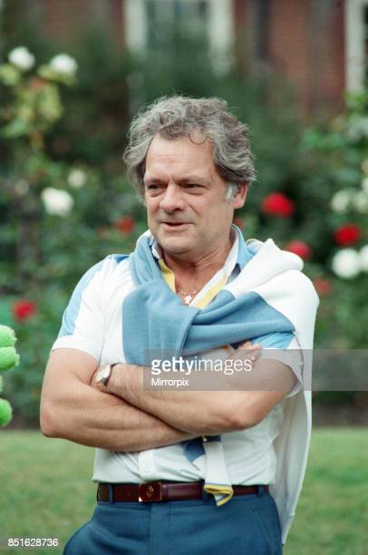 Actor David Jason pictured at a Thames TV stars party 5th September 1988