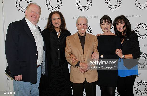 Actor David Joliffe actress Denise Nicholas executive producer/director Gene Reynolds and actresses Karen Valentine and Judy Strangis attend the...