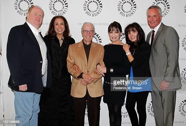 Actor David Joliffe actress Denise Nicholas executive producer/director Gene Reynolds and actresses Karen Valentine and Judy Strangis and Craig...