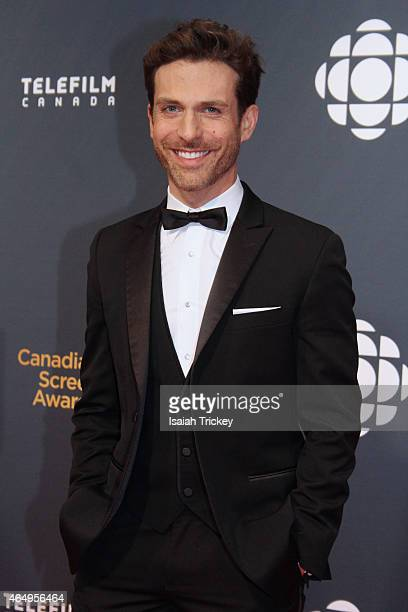 Actor David Julian Hirsh arrives at the 2015 Canadian Screen Awards at the Four Seasons Centre for the Performing Arts on March 1 2015 in Toronto...