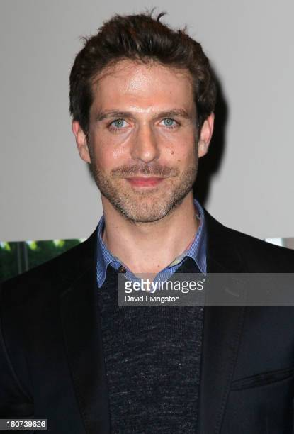 Actor David Julian Hirsh attends the premiere screening of Twist of Faith at the Stephen S Wise Temple on February 4 2013 in Los Angeles California
