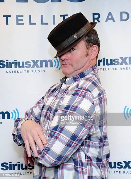 Actor David Koechner visits the SiriusXM Studios on February 28 2014 in New York City