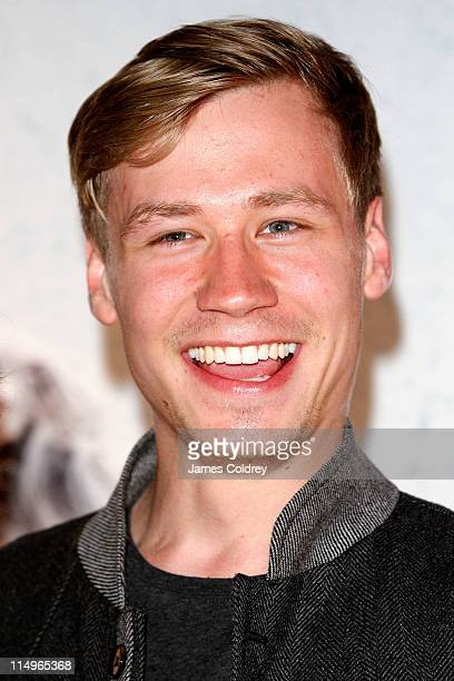 Actor David Kross attends the 'Das Blaue von Himmel' premiere at Astor Film Lounge on May 31 2011 in Berlin Germany
