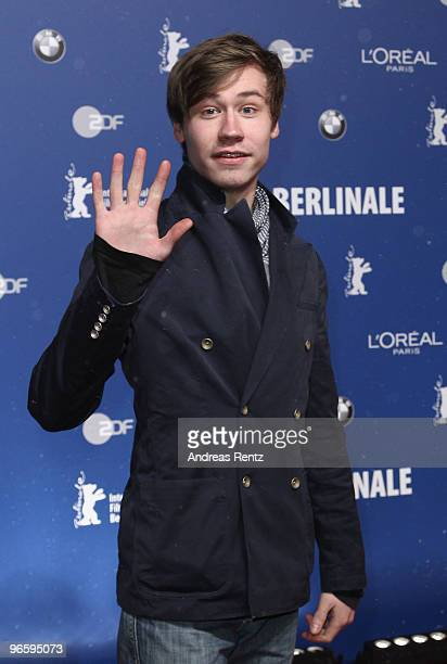 Actor David Kross attends the opening party to the 60th Berlin Film festival at Cafe Moskau on February 11 2010 in Berlin Germany