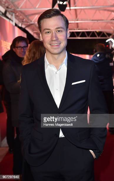 Actor David Kross during the Bayerischer Filmpreis 2017 at Prinzregententheater on January 19 2018 in Munich Germany
