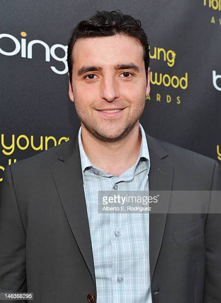 Actor David Krumholtz arrives at 14th Annual Young Hollywood Awards presented by Bing at Hollywood Athletic Club on June 14 2012 in Hollywood...