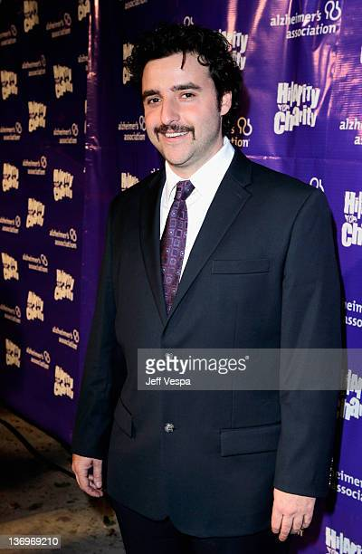"""Actor David Krumholtz arrives at """"Hilarity For Charity"""" To Benefit The Alzheimer's Association at Vibiana on January 13, 2012 in Los Angeles,..."""