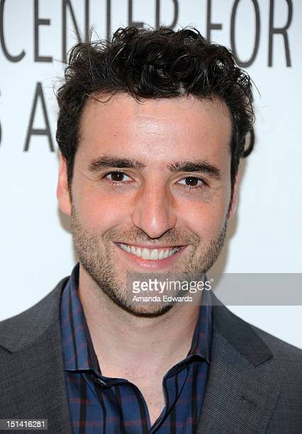 Actor David Krumholtz arrives at the 2012 PaleyFest Fall TV Preview CBS Preview Screening Of 'Partners' at The Paley Center for Media on September 6...
