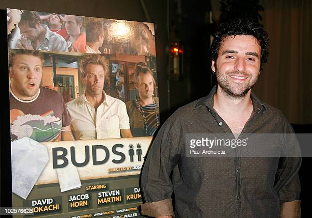 Actor David Krumholtz arrives at the 'Buds' Los Angeles premiere party at Bardot on July 1 2010 in Los Angeles California