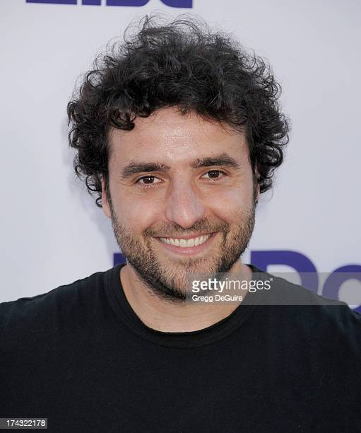 Actor David Krumholtz arrives at the Los Angeles premiere of 'The To Do List' at Regency Bruin Theatre on July 23 2013 in Los Angeles California