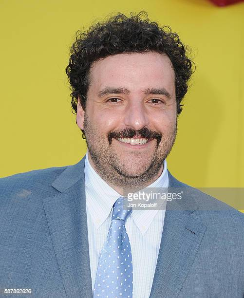 Actor David Krumholtz arrives at the Los Angeles Premiere 'Sausage Party' at Regency Village Theatre on August 9 2016 in Westwood California