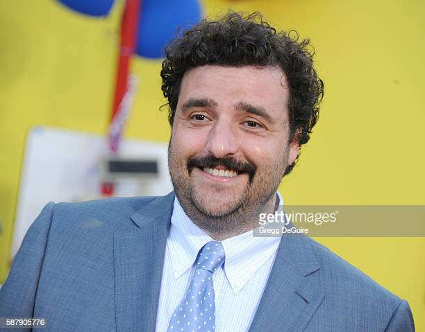 Actor David Krumholtz arrives at the premiere of Sony's 'Sausage Party' at Regency Village Theatre on August 9 2016 in Westwood California