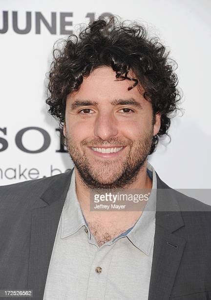 Actor David Krumholtz arrives at the 'This Is The End' Los Angeles premiere at Regency Village Theatre on June 3 2013 in Westwood California