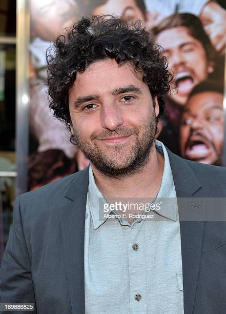 Actor David Krumholtz attends Columbia Pictures' 'This Is The End' premiere at Regency Village Theatre on June 3 2013 in Westwood California