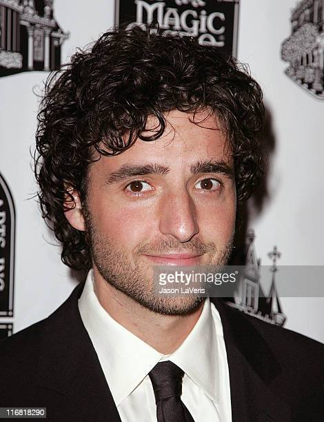 Actor David Krumholtz attends the Academy of Magical Arts Awards at the Beverly Hilton Hotel on April 5 2008 in Beverly Hills California