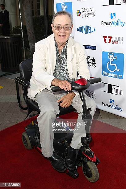 Actor David L Lander attends the Cinemability Los Angeles Premiere at Paramount Studios on July 26 2013 in Hollywood California