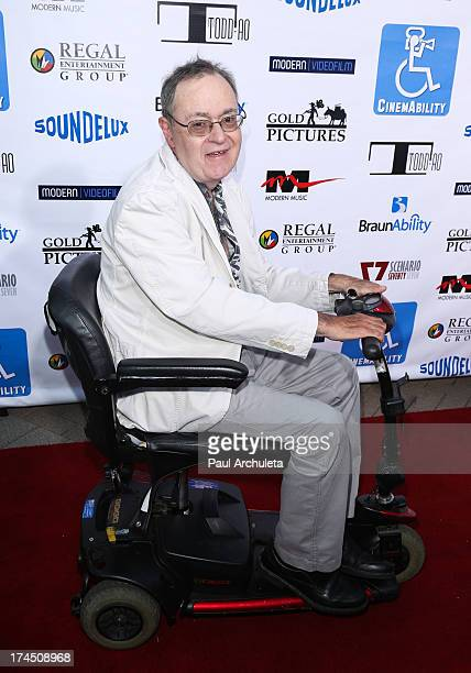 Actor David L Lander attends the Cinemability premiere at Paramount Studios on July 26 2013 in Hollywood California