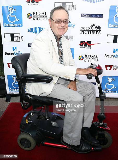 Actor David L Lander attends the Los Angeles premiere of CinemAbility at Paramount Studios on July 26 2013 in Hollywood California