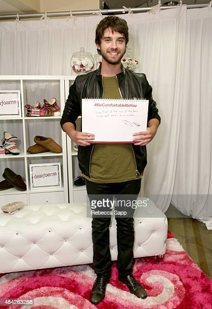 Actor David Lambert attends the Backstage Creations retreat at Teen Choice 2015 at the Galen Center on August 16 2015 in Los Angeles California